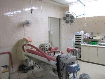 分娩室の改装前