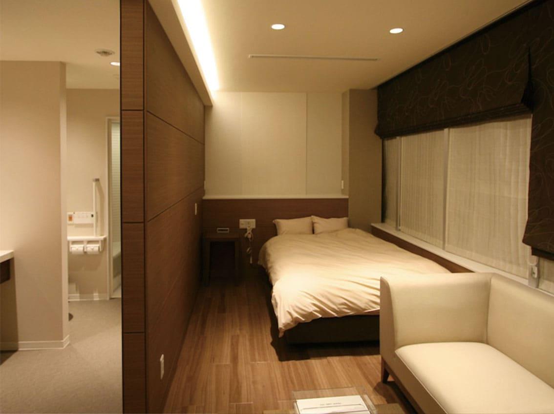 ホテルライクな医療空間